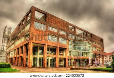 City hall of Dortmund - Germany, North Rhine-Westphalia - stock photo
