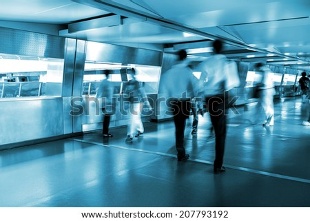 City life in Hong Kong - stock photo