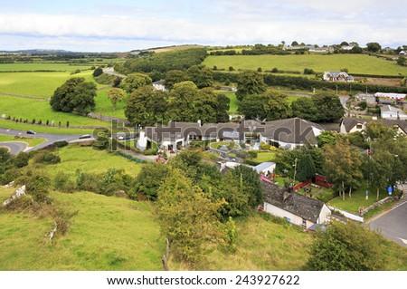 City of Cashel in Ireland. County Tipperary - stock photo
