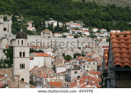 City of Dubrovnik, Croatia. - stock photo