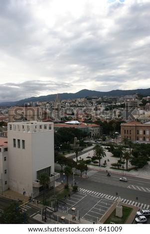 City of Messina, Italy - stock photo