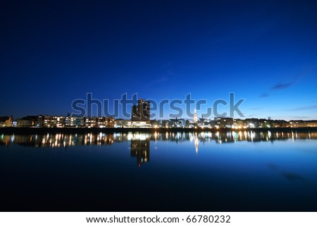 City of Osijek, Croatia - stock photo