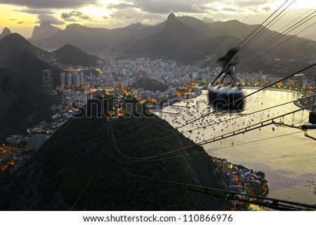 City of Rio de Janeiro, Brazil - stock photo