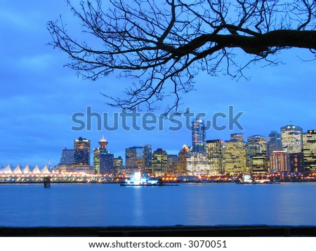City of Vancouver - stock photo
