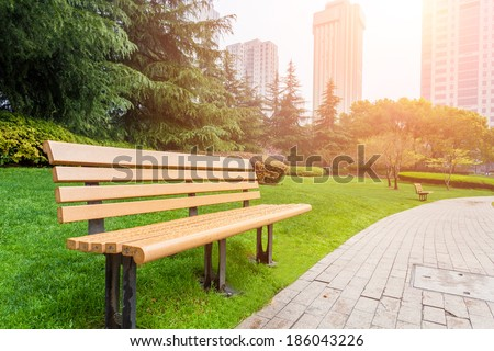 City Park - stock photo