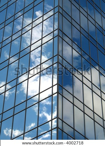 City Reflection - stock photo