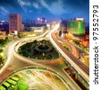 City Scape of the nanchang china. - stock photo
