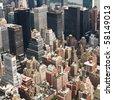 City Skyline - stock photo