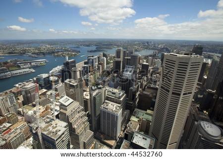 City Skyline at Sydney, Australia - stock photo