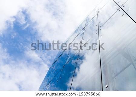 City skyscraper - stock photo