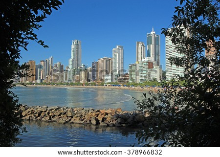 City View of Balneario Camboriu - Brazil
