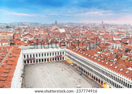 Cityscape in Venice, Italy.  - stock photo