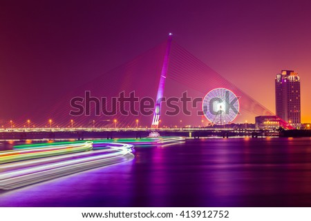 Cityscape of Da Nang city in Vietnam