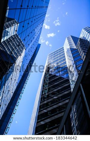 Cityscape of Perth. - stock photo