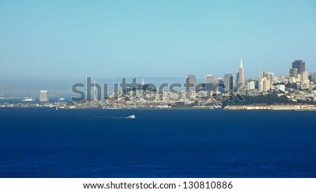 cityscape of San Francisco - stock photo