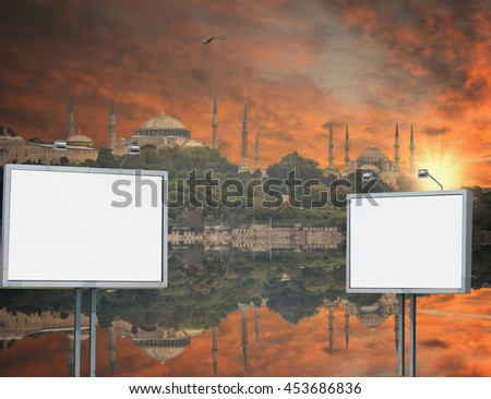 Cityscape with Galata Tower  in Istanbul, Turkey - stock photo