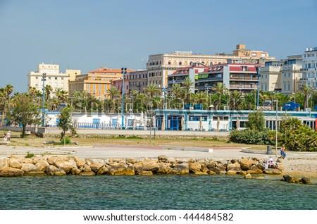 View major cruise terminal cruise liner stock photo - Port of civitavecchia cruise terminal ...