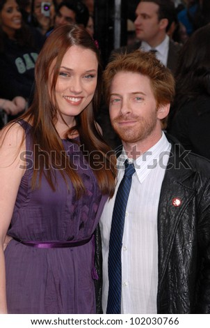 "Clare Grant and Seth Green at the ""Prince of Persia: The Sands of Time"" Los Angeles Premiere, Chinese Theater, Hollywood, CA. 05-17-10"