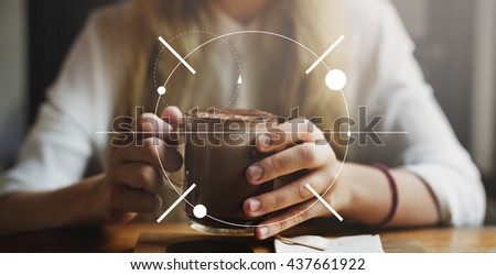 Clarity Concentrate Determine Focus Target Concept - stock photo