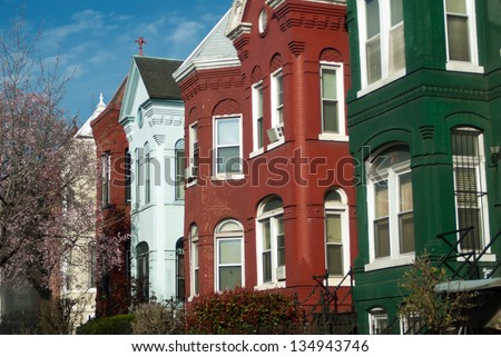 Dc washington classic scene stock photos royalty free for Classic american architecture