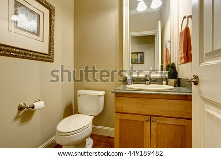 Classic American Bathtub Tile Floor Wooden Stock Photo (Royalty Free ...