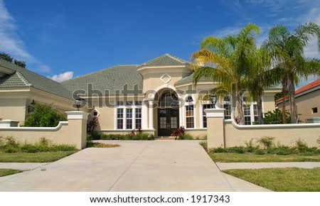 Classic American Style House In Tropic Region