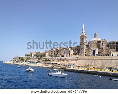 classic building view of Malta