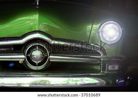 Classic Car - stock photo