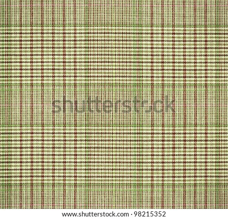 Classic checkered textile, highly detailed - stock photo