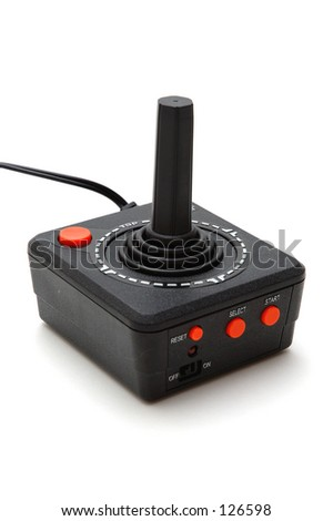 Classic joystick - stock photo
