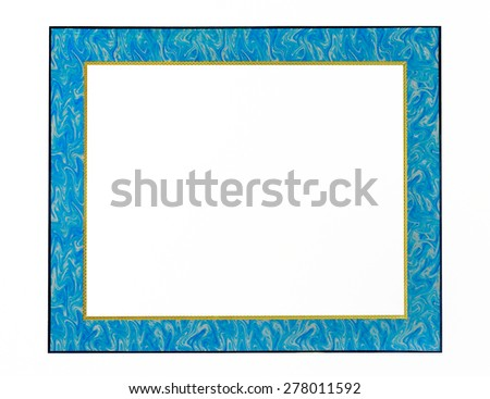 Classic picture frames. - stock photo