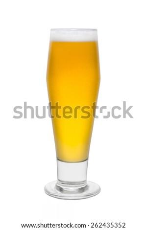 Classic Pilsner Beer, with Foam top #2 - stock photo