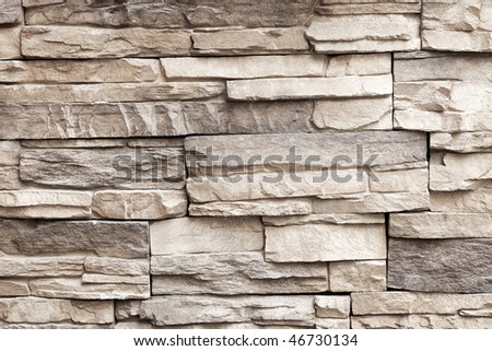 classic travertine stone surface for decorative works or texture - stock photo