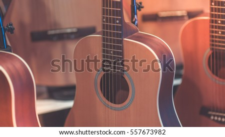 Classical brown guitars (Vintage Style)