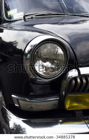 classical car - stock photo