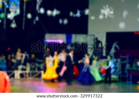 Classical dance competition