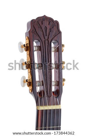 Classical guitar, back ans sides - indian rosewood, the top is spruce, Rose is handmade.The fretboard is carved in modern style,  Finishing - high gloss polyurethane lacquer.