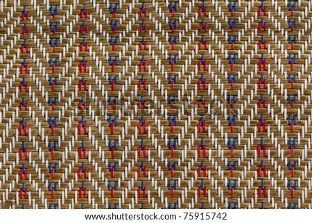 Classical Thai Art on handmade papyrus mat - stock photo