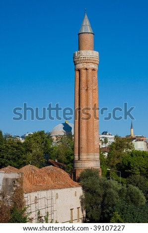 Classical view at the Antalya, Turkey - stock photo