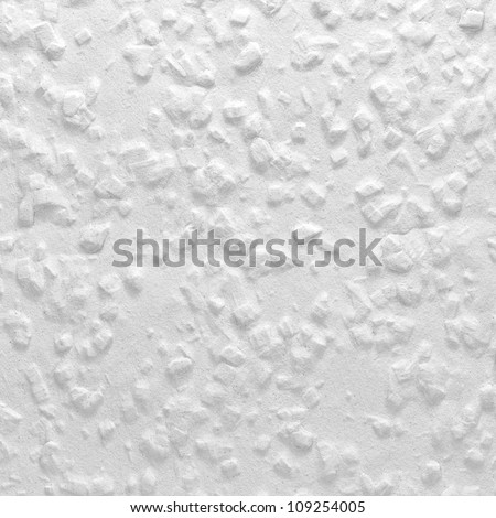 Classical White Woodchip Wallpaper As Background