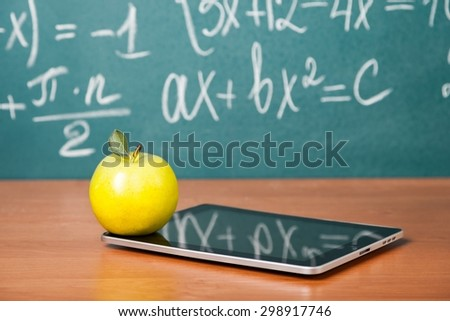 Classroom, background, studying. - stock photo