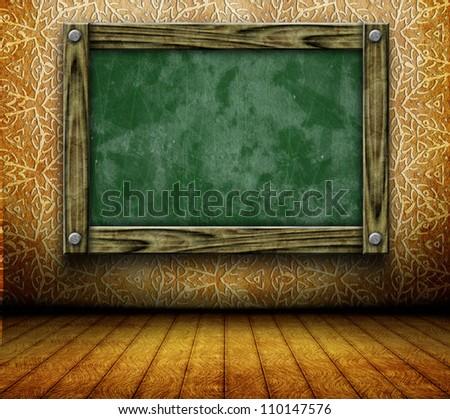 Classroom interior. Back to school - stock photo
