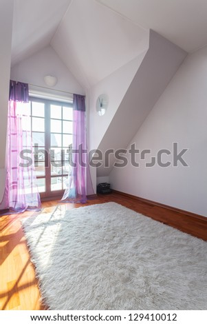 Classy house - Room ready to move in - stock photo