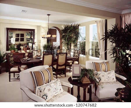 beautiful living room architecture stock images stock photo