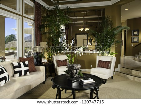 classy living room architecture stock imagesphotos stock photo