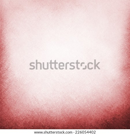 classy white background with pale white center spot and darker red grunge design border texture with soft lighting - stock photo