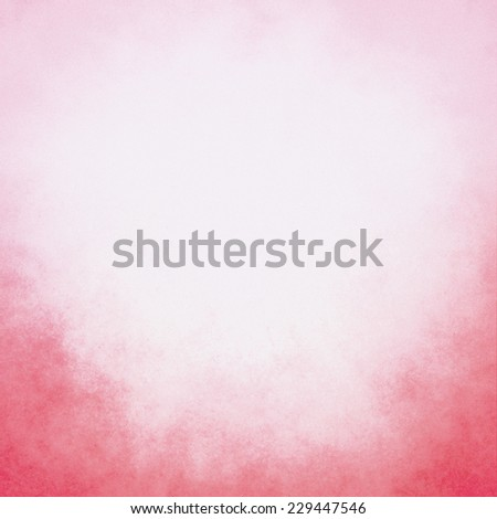 classy white background with pastel top border and gradient color to dark pink red bottom border, old distressed vintage red background with faded white color and vintage grunge texture - stock photo