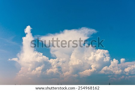 Clean Air Summer Sun  - stock photo