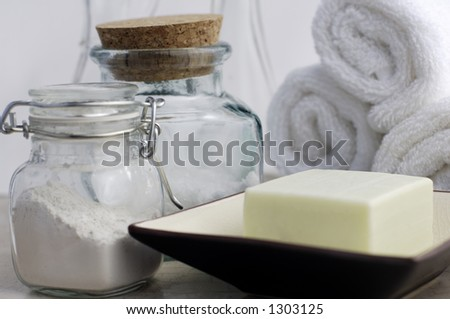 Clean and Natural - stock photo