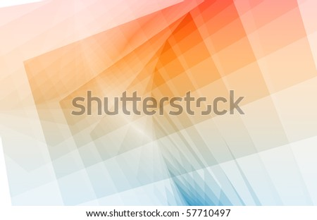 Clean and Simple Trendy Abstract as Background - stock photo